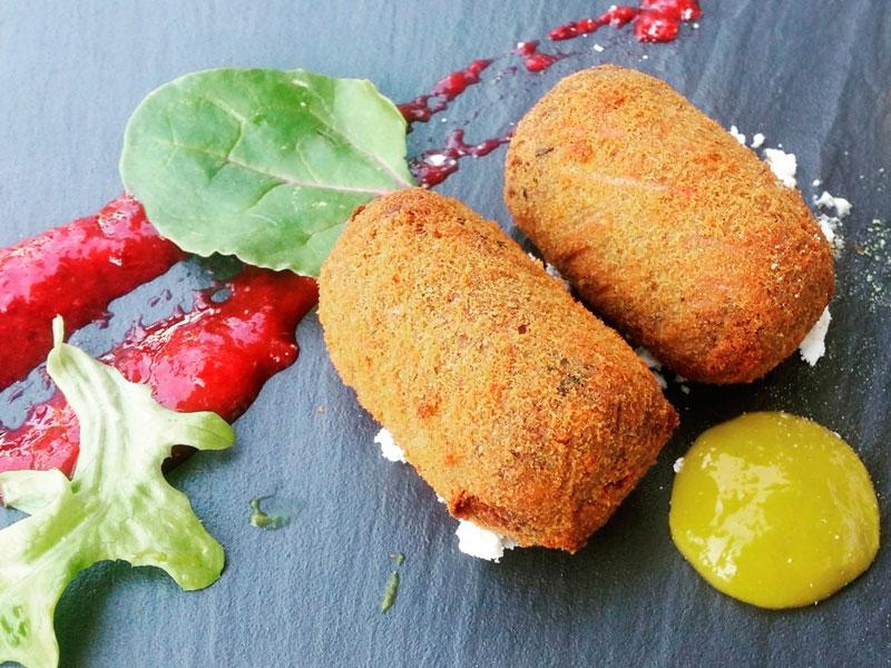 receta de croquetas de chorizo ibérico - Jamón Ibérico Matas