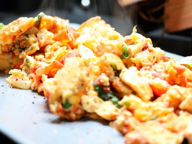 Receta de setas con jamón - ideal para el otoño - Jamón Ibérico Matas